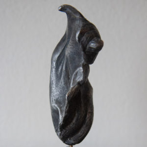 Burning Whalehead pewter maquette