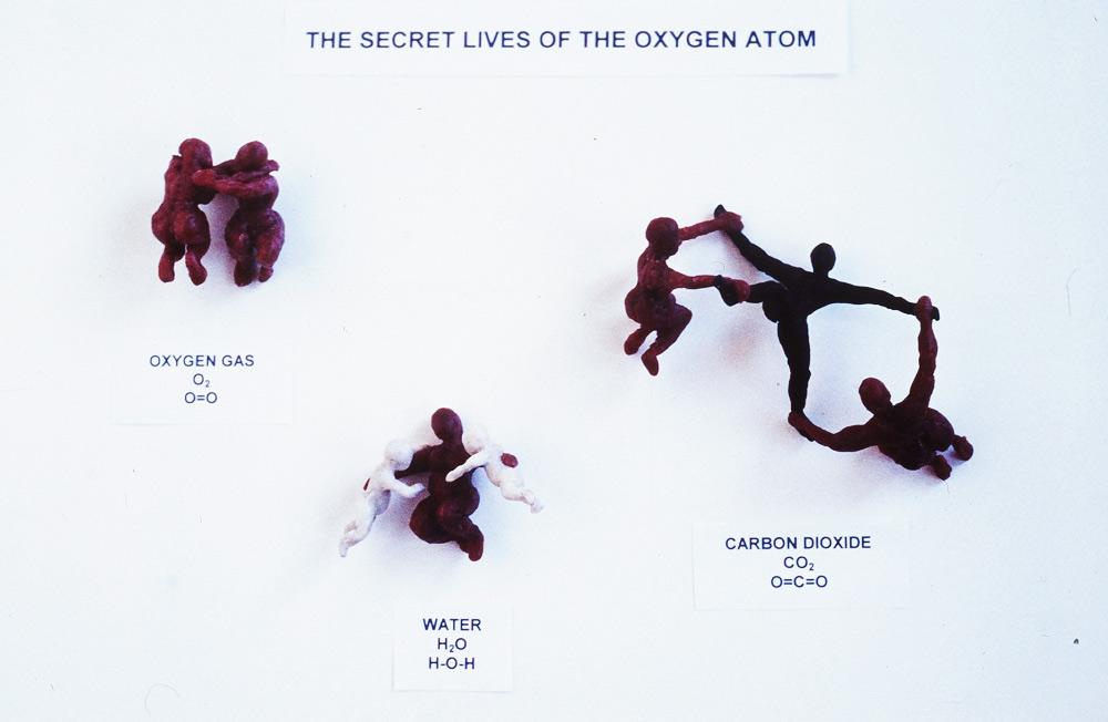The secret lives of the oxygen atom