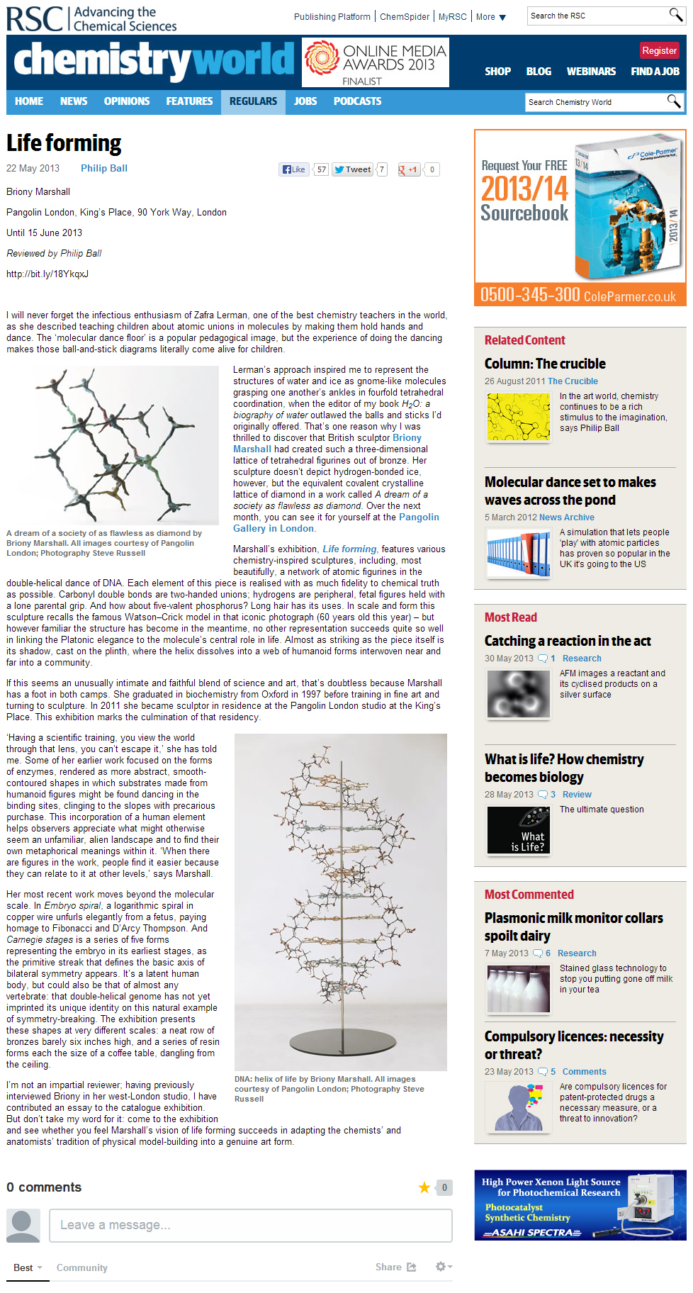 Chemistry World Review