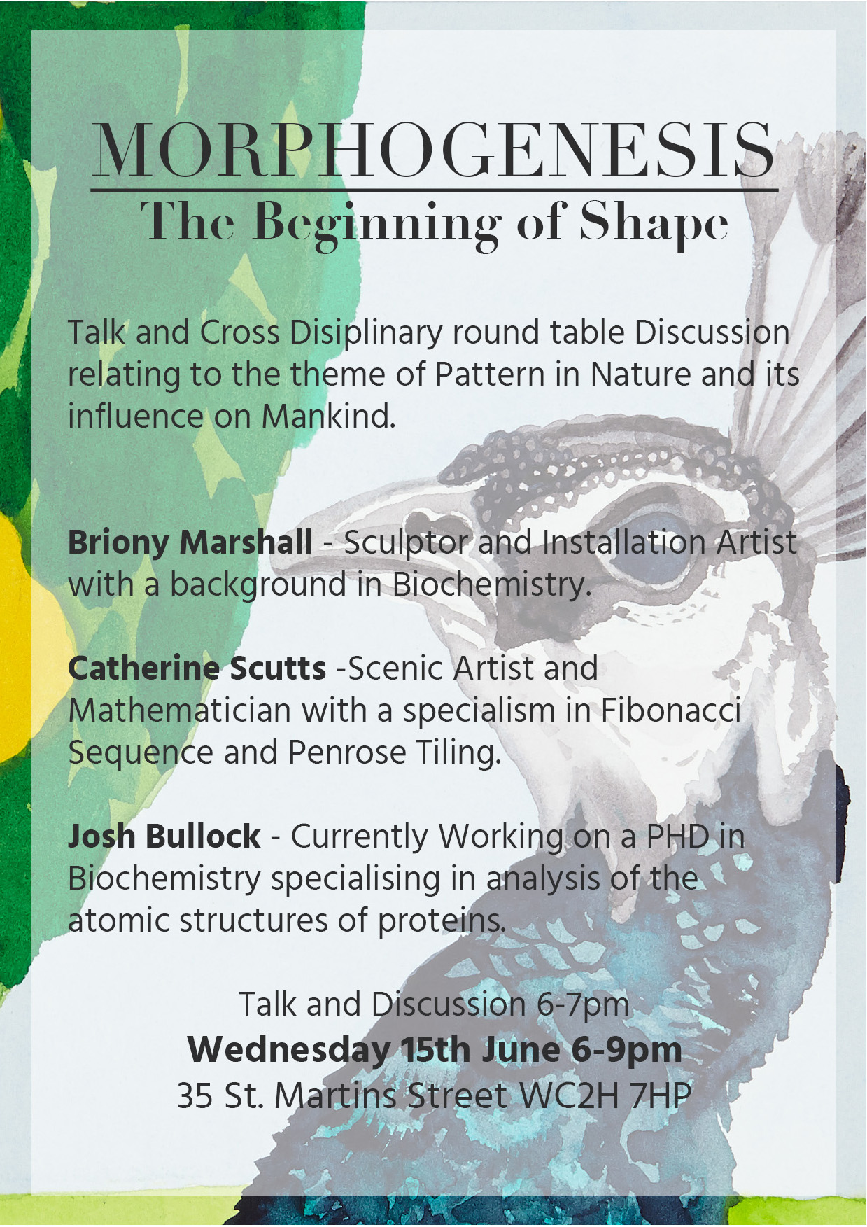 Cross-disciplinary round-table at Westminster Reference Library