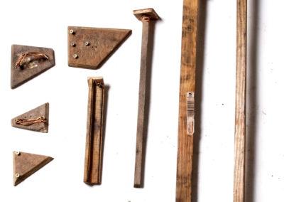 Earth ramming tools