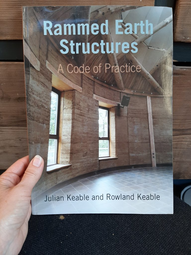 Rammed earth book: Rammed Earth Structures A code of practice by julian and Rowland Keable