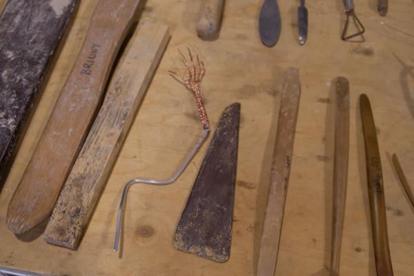 My sculpture tools