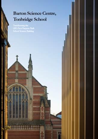 Barton Science Centre Brochure cover