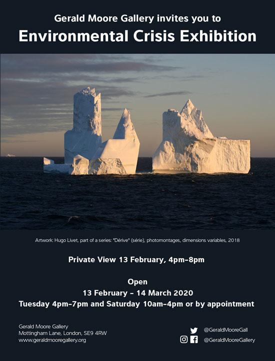 Environmental Crisis Exhibition poster