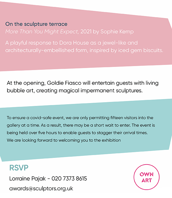 more details about the Royal Society of Sculptors Summer Exhibition