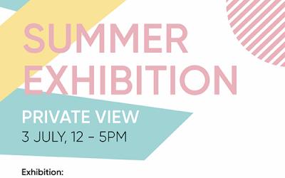 Invitation to Royal Society Of Sculptors Summer Exhibition 2021