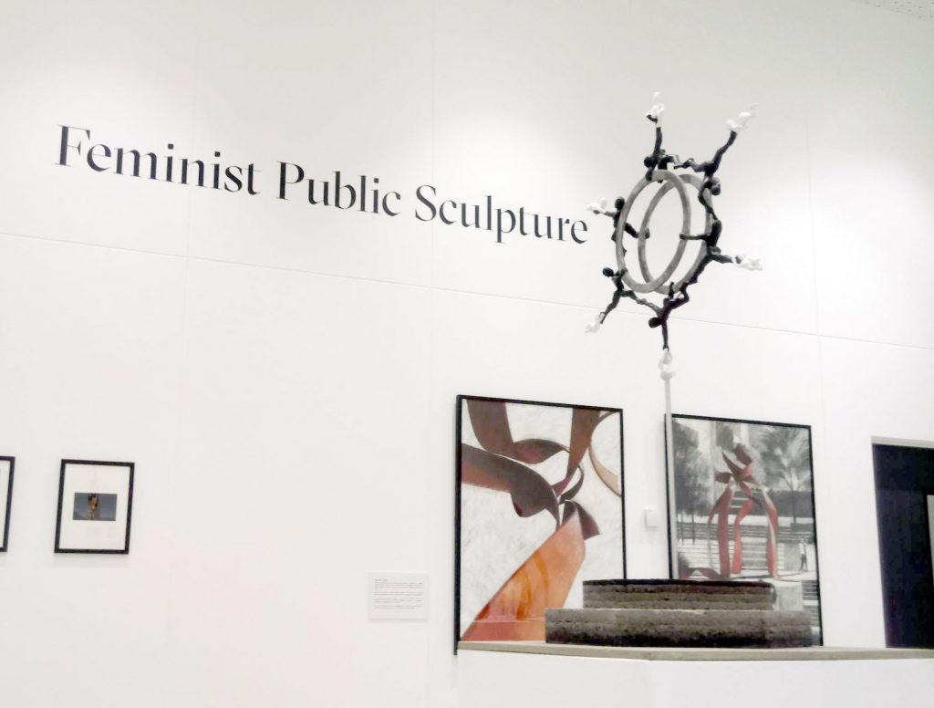 Installation view of my maquette