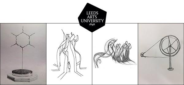 Invitation to Leed Feminist Sculpture Exhibition